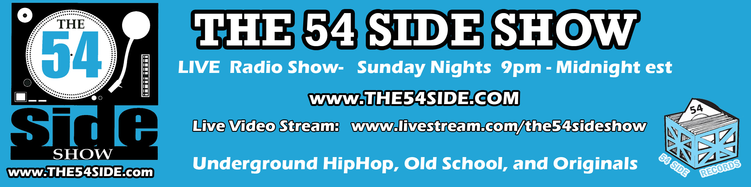The 54 Side Show