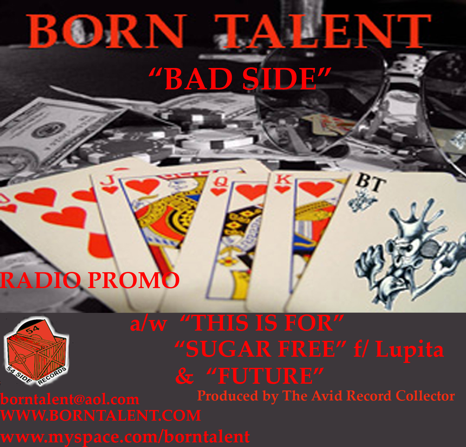 Born Talent- BAD SIDE [CD Single]