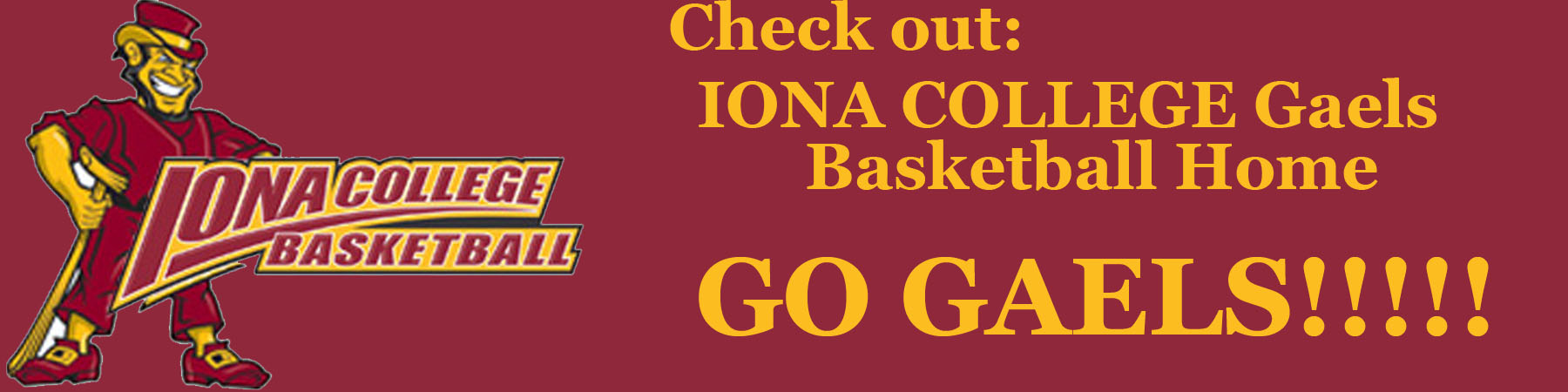 IONA GAELS Basketball