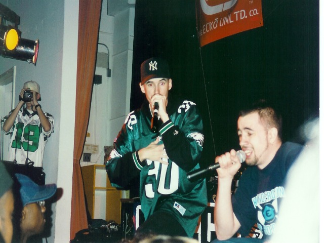 Born Talent & Jay Love at Penn State '98